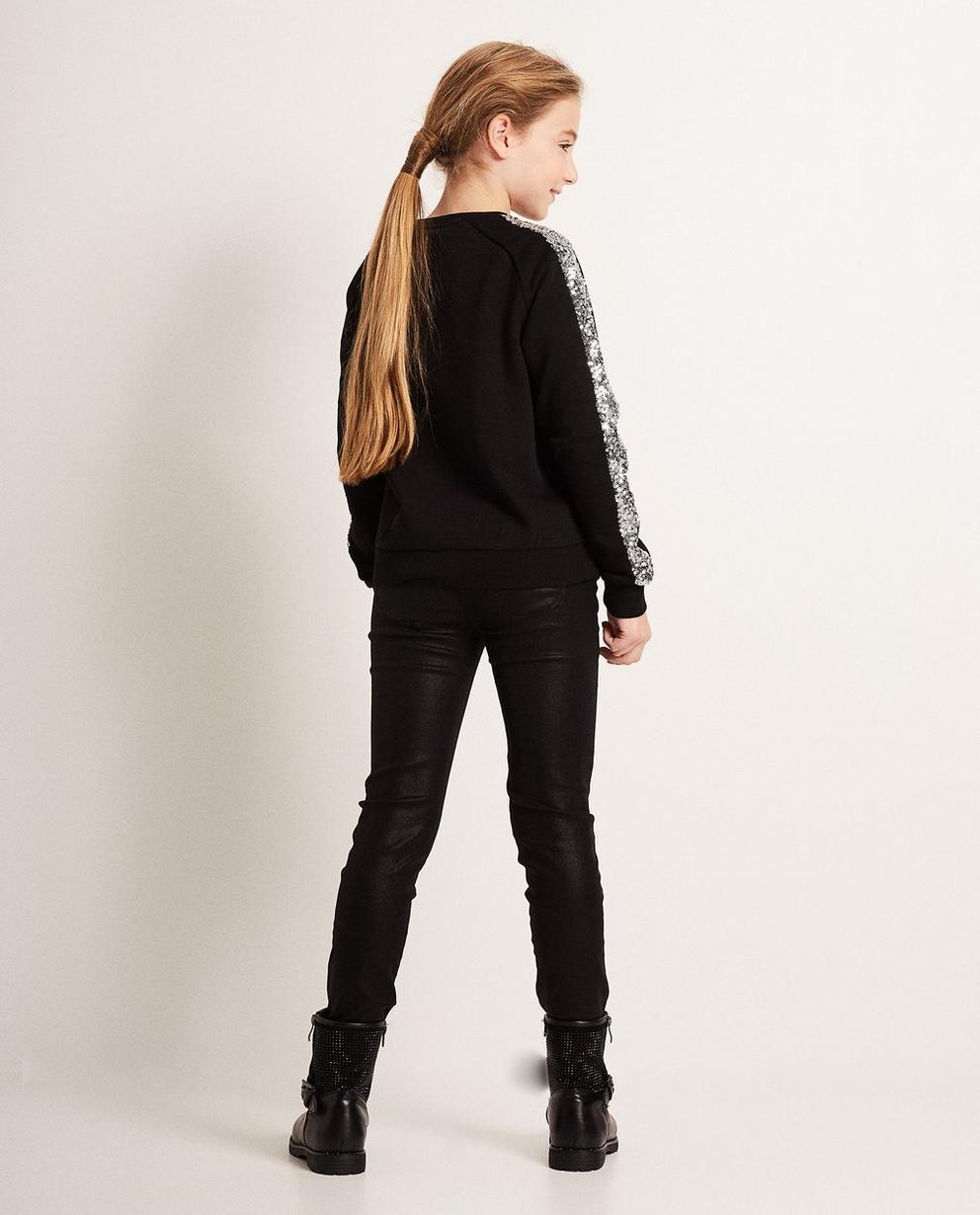 Sweater - Schwarz - Schwarzer Sweater